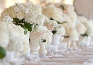 All-white dinner