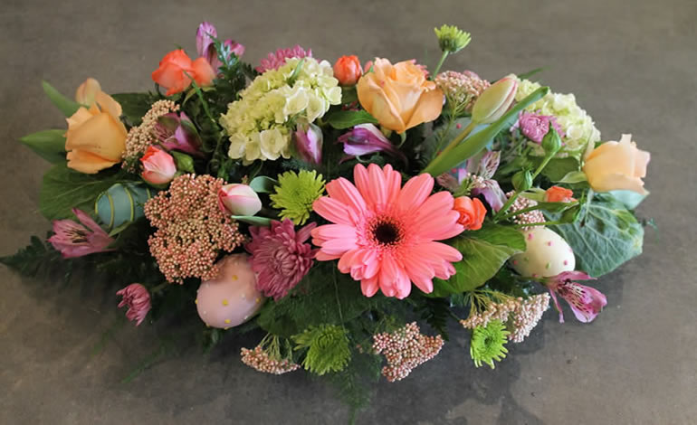 Centerpiece by EverBloom Floral and Gift