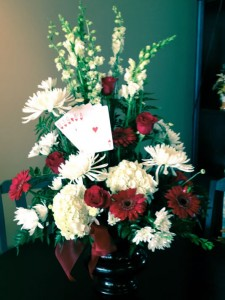 Funeral spray by EverBloom Floral and Gift